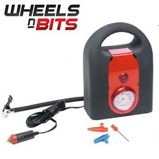 12 VOLTS Mini compresseur air 250psi FORT & Jauge Pression auto moto utilitaire