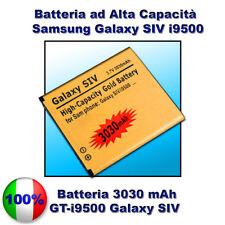 Batteria GOLD MAGGIORATA 3030mAh SAMSUNG GALAXY S4 I9500 - NO DOGANA