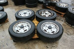 2006-2014 MK7 FORD TRANSIT Spare Wheel and tyre X4 205/65/R16C #51