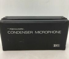 Realistic Cardioid Condenser Microphone 33-1045A - Fast Free Shipping - G14