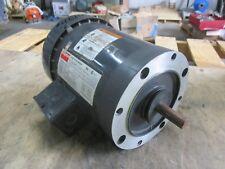 Dayton 1/2Hp Industrial Motor #46147J Fr:56C 208-220/440 Ph:3 New Old Stock