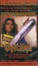 Venganza suicida (1987) VHS KOW King of the Witches Mexi Mexican Horror Cult