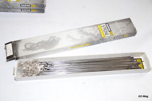 Pack de 67 Rayons de Vélo - SAPIM Strong en Inox - Argenté - Long 258 mm - NEUF