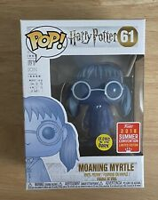 Funko Pop! Harry Potter Moaning Myrtle Glow #61 SDCC 2018 Summer Convention !