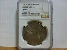 1887PI MR Mexico 8R Dies of 1887-93 NGC MS-62
