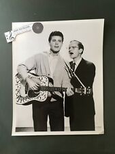 Original 1960's 8 x 10 Publicity Photo Rick Nelson Wally Cox Ozzie and Harriet