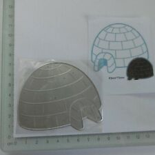 For Christmas*Cutting Dies**IGLOO**Christmas*Card**Topper