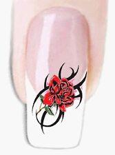 Tribal Blumen -85 Wraps Nail Art Tattoo Sticker Decal Fingernägel FußNägel Aufkl