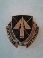 Authentic US Army 9th Aviation Battalion Unit DI DUI Crest Insignia E23