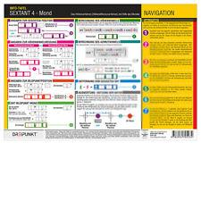 Sextant (4) - Höhenverfahren, Info-Tafel, DIN A4 # Höhendifferenzverfahren Mond