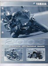 2003 Yamaha Motorcycle / Atv Technical Update Manual Lit-17500-00-03