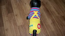 dog jumpsuit, pajamas, yellow/blue,red&pink,Small**(read details for size)