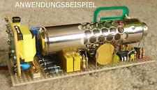 Zählrohr Geigerzähler selber bauen Geiger counter VALVO 18550  FH 40 FHZ 76