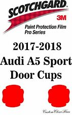 3M Scotchgard Paint Protection Film Pro Series Clear Bra 2017 2018 Audi A5 Sport