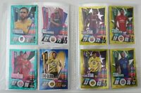2020/21 Match Attax UEFA - Lot of 100 cards inc 20 shiny + FREE Folder