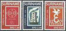 Timbres 50 ans de timbres Europa Surinam 1799/1801 ** année 2006 lot 9776