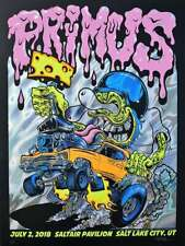 Primus Concert Poster 2018 Dirty Donny