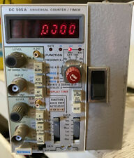 Tektronix Dc 505 A Universal Plug In Counter Timer As Is
