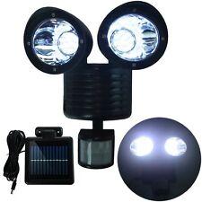 Dual Security Detector Solar Spot Light Motion Sensor Outdoor 22LED Floodlight A