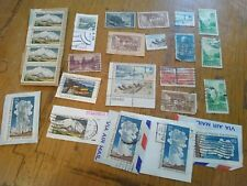 27 ASSORTED NATIONAL PARKS FOREVER STAMPS USED AND a few unused