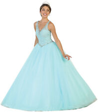 SALE! PAGEANT PROM CINDERELLA SWEET 15 16 QUINCEANERA BALL GOWN MASQUERADE DRESS
