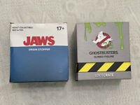 Ghostbusters Slimed Figure & Jaws Drain Stopper Loot crate Collectibles New Open