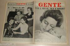 GENTE 1961/49=PRINCESS MARGARET=NINO MANFREDI FILM=PEPPINO DI CAPRI=MARCO HERMAN