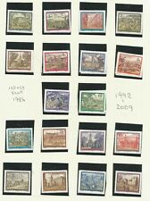 AUSTRIA 1984 - TWO  SUPERB AND FRESH FINE UNMOUNTED MINT AND USED SETS SG1992