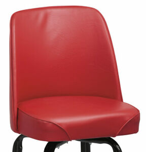 """14"""" BAR BUCKET REPLACEMENT SEAT UNIVERSAL HEAVY DUTY COMMERCIAL BLACK OR RED"""