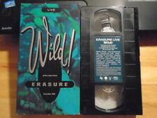 RARE OOP Erasure VHS music video Wild! LIVE London Arena 1989 Depeche Mode Yazoo