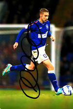 Ipswich Town F.C Lee Martin Hand Signed 12/13 Photo 6x4 2.