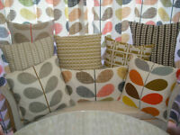 # VARIOUS DESIGN Cushion cover using orla kiely quilting fabric #1
