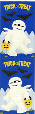 Mrs. Grossman's Stickers - Mummy - Trick or Treat Halloween - Bats - 4 Strips