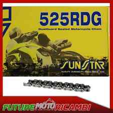 SUNSTAR CATENA GRIGIO PASSO 525 TRIUMPH THRUXTON 900 2004-2008 CHAIN GREY