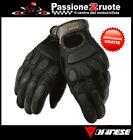 Guanti Dainese Blackjack Black jack nero black moto leather gloves