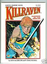 Marvel Graphic Novel #7 Killraven P. Craig Russell 1983