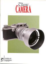 Classic Camera  N.57 Febbraio 2006 rivista in italiano collezionismo fotografico