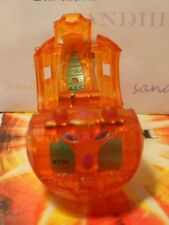 Bakugan Dual Elfin Orange Aquos Translucent B3 BakuSolar 670G & cards