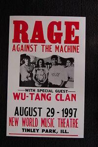 Wu-Tang Clan Group Shot Black /& White Poster 24 x 36