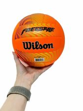 Wilson Freestyle Orange Yellow Volleyball New (Official Size)