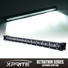 "Xprite C6 Series 90W 20"" LED Flood Light Bar Off Road Ultra Thin Single Row"