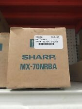 MX70NRBA-Genuine Sharp Black DRUM for the MX-5500N  /  MX6200N / 7000N, OEM