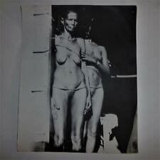 ANCIENNE  GRANDE PHOTO  ARGENTIQUE /  NU / EROTIQUE  /  VERS 1950 / 1960