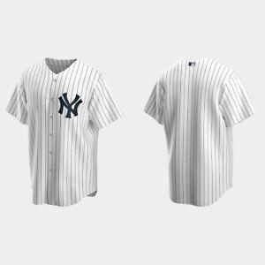 New York Yankees Home Replica Jersey - White Baseball Jersey S-5XL