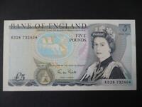 1988 GILL FIVE POUNDS IN UNCIRCULATED CONDITION DUGGLEBY B353. 1988 £5 NOTE
