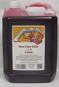 SLUSH SYRUP 4x5 LTR Kola Cube Slush
