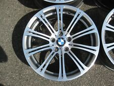 "GENUINE 19"" BMW STYLE 220 E92 M3 STAGGERED ALLOY WHEELS FULLY REFURBISHED E46 M3"