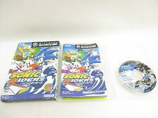 SONIC RIDERS Sonic The Hedgehog Item Ref/cccc Game Cube Nintendo Japan gc