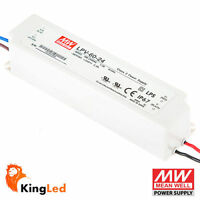 Mean Well Alimentatore LED Meanwell LPV-60-24 60W 24V IP67 AC/DC Esterno 1570