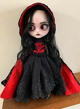 OOAK Custom Vampire Blythe Doll - Gothic Doll